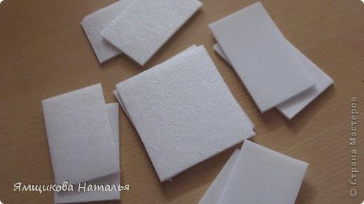 Шкатулка из потолочной плитки. фото 2
