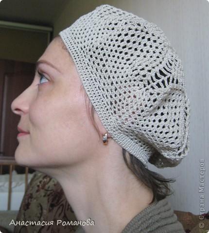 Вязала второй ажурный беретик, так как первый http://stranamasterov.ru/node/194047 мне не очень нравится. фото 6