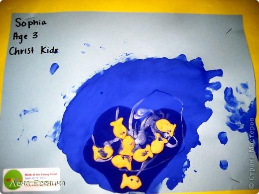 Фантазия из кругов. Дети 4-6 лет.  фото 2