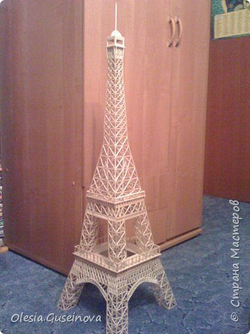 Эйфелева башня Спички фото