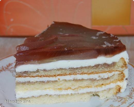 Тортик с винными грушами (с глинтвейном). фото 2