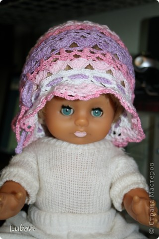 Панамка для девочки. фото 2