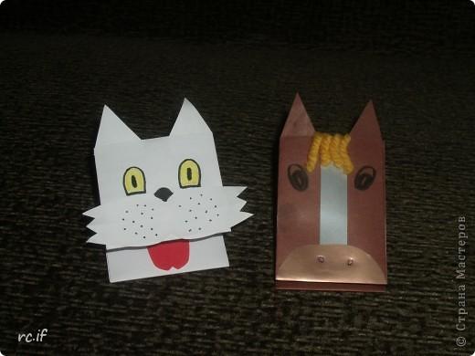 Очень понравилась идея Светланы (Ученик мастера) по созданию игрушек из бумаги. Уже в ночи по-быстрому сделала дочке собачку. Утром подарила, дочка была в восторге! И сразу засыпала меня заказами. Так у нас появились котенок и лошадка! Идей еще много, осталось только найти время :) http://stranamasterov.ru/node/194908#comment-1681602 http://ejka.ru/blog/podelki/895.html  фото 5