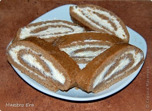 Тортик с винными грушами (с глинтвейном). фото 3