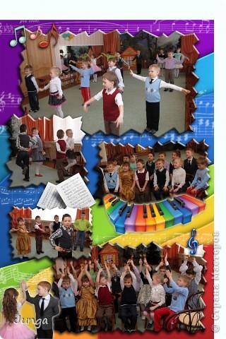 Делала выпускной альбом для детского сада, в тесном контакте с заказчиком :) Вот что получилось :)  Портрет фото 3