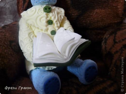 Мой мишутка из глины DEKO!!! фото 3