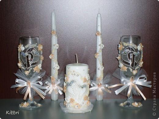 """Свадебный набор """"Два сердца"""" фото 1"""