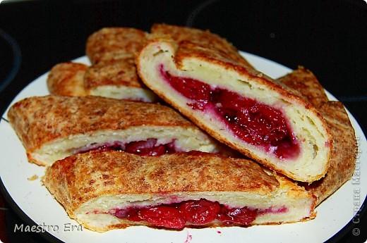 Тортик с винными грушами (с глинтвейном). фото 14