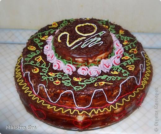 Тортик с винными грушами (с глинтвейном). фото 15