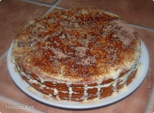 Тортик с винными грушами (с глинтвейном). фото 6