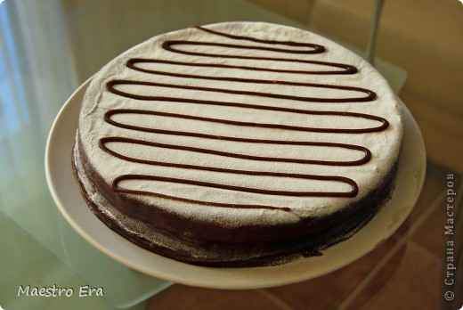 Тортик с винными грушами (с глинтвейном). фото 7