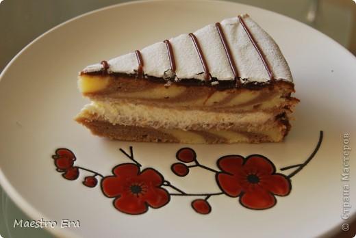 Тортик с винными грушами (с глинтвейном). фото 8