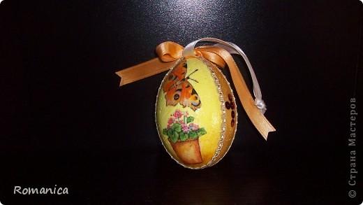 """Вот такие яйца делала к Пасхе. Фотографировал муж на скорую руку перед """"раздачей"""".  фото 2"""