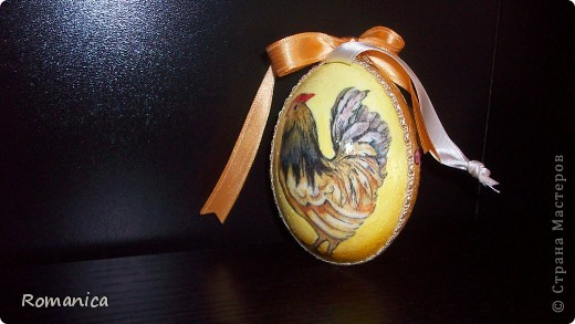 """Вот такие яйца делала к Пасхе. Фотографировал муж на скорую руку перед """"раздачей"""".  фото 3"""