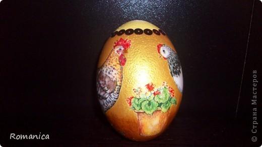 """Вот такие яйца делала к Пасхе. Фотографировал муж на скорую руку перед """"раздачей"""".  фото 4"""