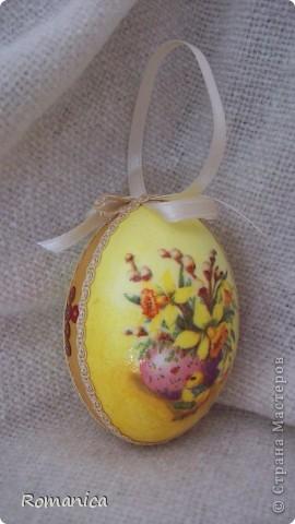 """Вот такие яйца делала к Пасхе. Фотографировал муж на скорую руку перед """"раздачей"""".  фото 8"""