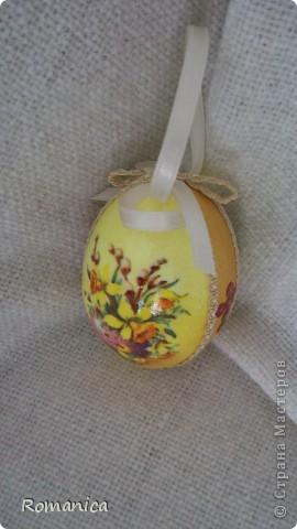 """Вот такие яйца делала к Пасхе. Фотографировал муж на скорую руку перед """"раздачей"""".  фото 9"""
