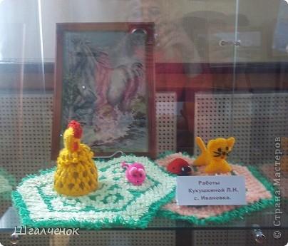 В нашем районе сейчас проходит выставка Таланты земли Ивановской фото 15