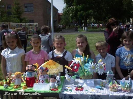 Каждый год у нас в мае проходит фестиваль народного творчества. Мы тоже решили поучаствовать. фото 1