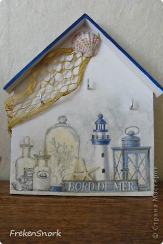 домик для ключей