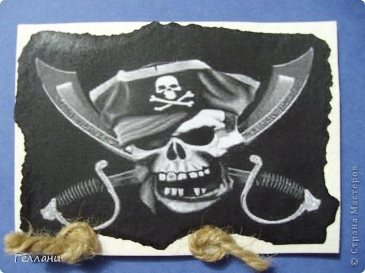 Вот такие пиратские карточки получились.Право выбирать первыми у Улик и Лучик фото 2