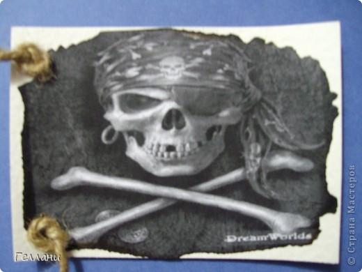 Вот такие пиратские карточки получились.Право выбирать первыми у Улик и Лучик фото 13
