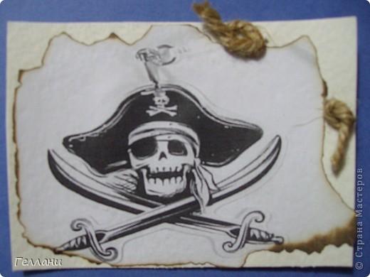 Вот такие пиратские карточки получились.Право выбирать первыми у Улик и Лучик фото 10