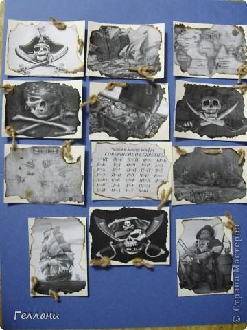 Вот такие пиратские карточки получились.Право выбирать первыми у Улик и Лучик фото 1