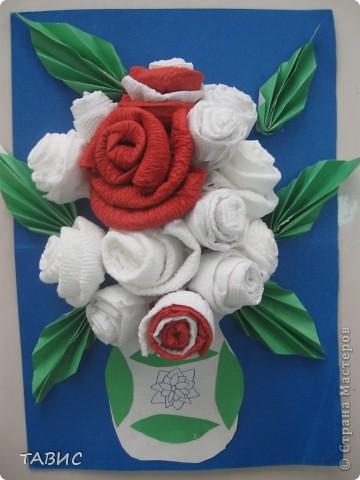 Декоративное панно, выполненное моим учеником пятиклассником.