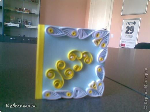 Мини-открытка (6х6см в сложеном виде). Подарок на Пасху. фото 3