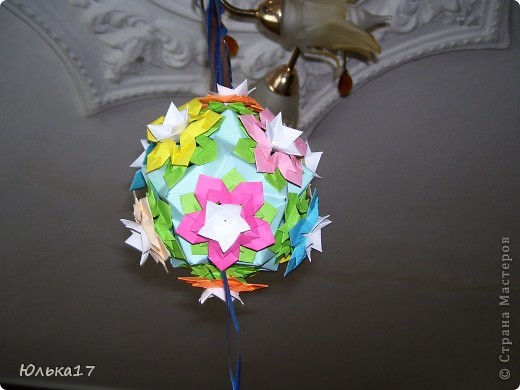 Прошу не судить строго, я только учусь. Баккишар зацвел замысловатыми цветочками.  Баккишар по МК Хельга Потаки  http://stranamasterov.ru/node/154490 Цветочки по МК asol1955  http://stranamasterov.ru/node/188269?tid=451 фото 1