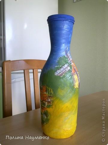 Вид бутылки по кругу)) фото 2