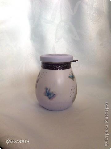 Очередная баночка в сиреневой гамме. фото 4