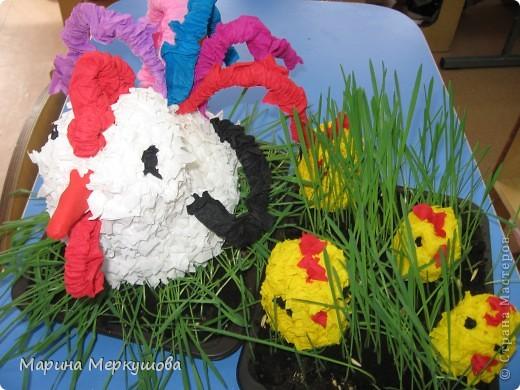 Петух с цыплятами фото 2