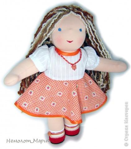 Вальдорфская кукла Искорка фото 2