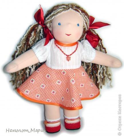 Вальдорфская кукла Искорка фото 1