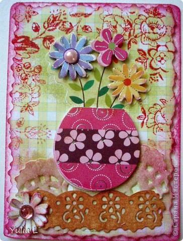 """Новая цветочная серия """"Краски лета"""" из 10 карточек.  Серия дополнена и закрыта. фото 10"""