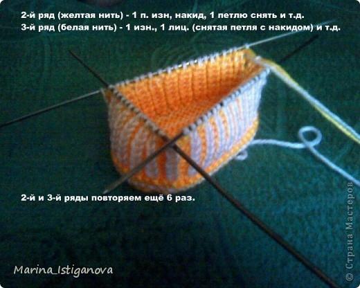 Мастер-класс Вязание спицами