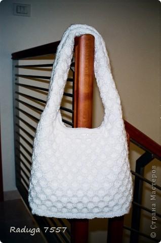 В этой сумке переделывала ручки и верх. фото 2