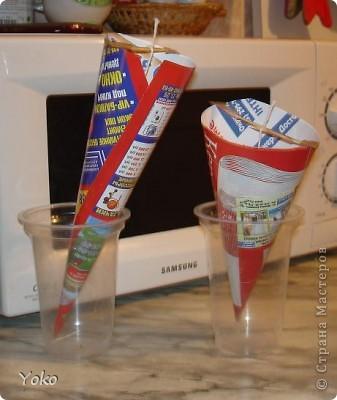Третья моя свеча. Первый раз попробовала тенику - декупаж.  фото 2