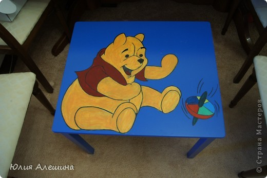 Столик для моего сынульки