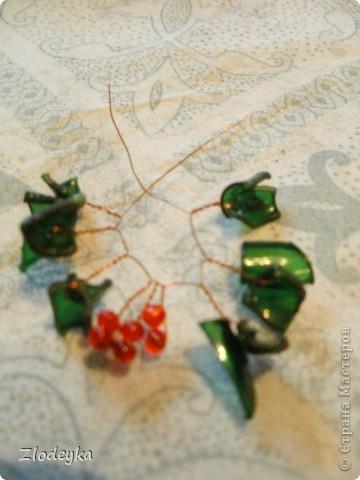 Моё очередное деревце из пластиковой бутылки,уж очень интересное занятие. фото 9
