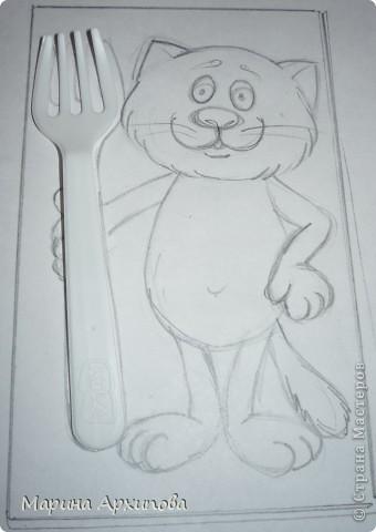 Мастер-класс Лепка Котик-коток Тесто соленое фото 2