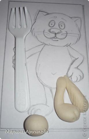 Мастер-класс Лепка Котик-коток Тесто соленое фото 3