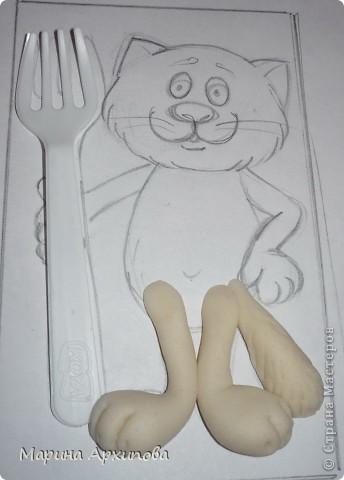 Мастер-класс Лепка Котик-коток Тесто соленое фото 5
