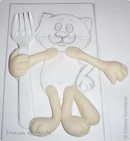 """Для учителей города Тольятти провела Мастер-класс по тестопластике, а теперь с Вами делюсь! Я понимаю, что быстрая еда вредная, но накопились вилки из """"Доширака"""", вот я их и пустила в дело... фото 8"""