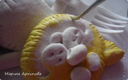 Мастер-класс Лепка Котик-коток Тесто соленое фото 15