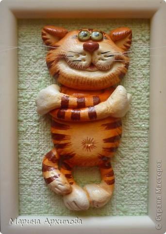 Мастер-класс Лепка Котик-коток Тесто соленое фото 20