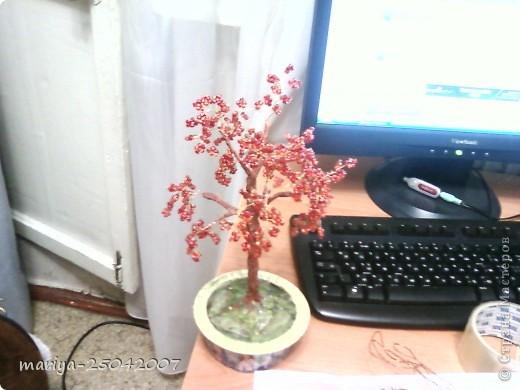 бисерное дерево в подарок фото 1