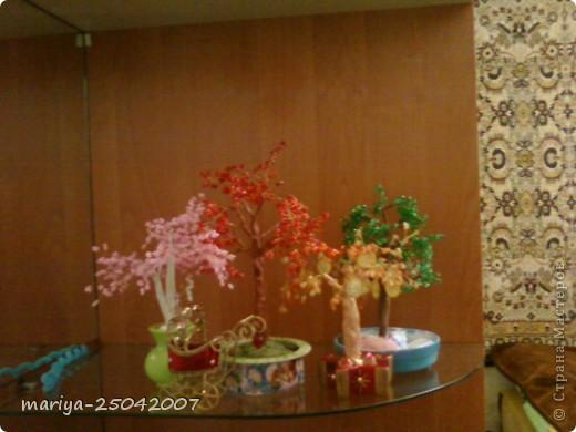 бисерное дерево в подарок фото 3